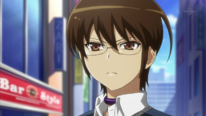 This is Keima, MC (Main Character) of the series